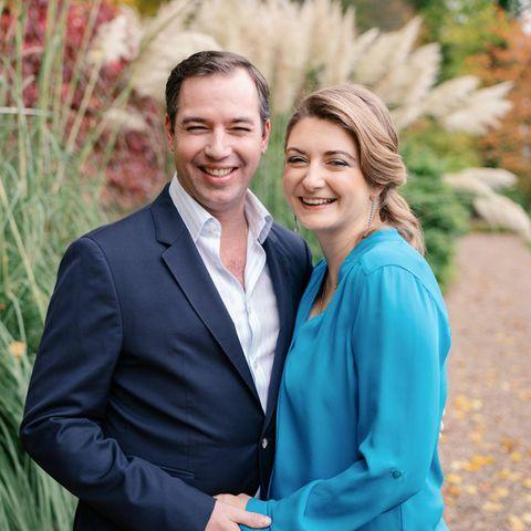 Guillaume + Stéphanie von Luxemburg