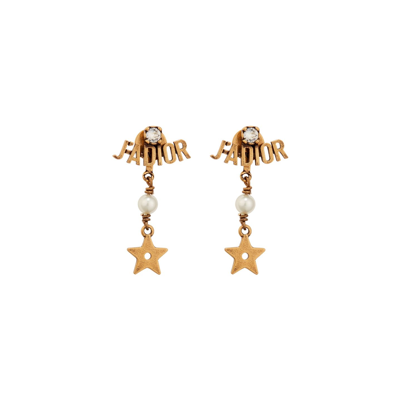 Wishlist: Mit diesen Ohrringen machen Sie alles richtig, wenn einer Ihrer Liebsten Statement-Ohrringe mit einem gewissen Etwas liebt. Von Dior, ca. 330 Euro.