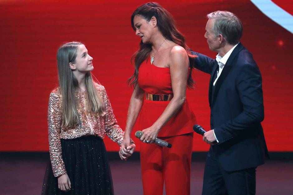 Lena, Andrea Berg + Johannes B. Kerner