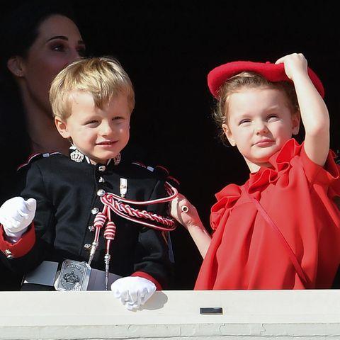 Vor dem Urlaub in Dubai feierten Jacques und Gabriella den Nationalfeiertag in Monaco