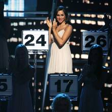 "Meghan Markle während der ""Deal or No Deal""-Show im Oktober 2006"