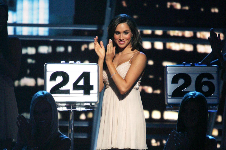 """Meghan Markle während der """"Deal or No Deal""""-Show im Oktober 2006"""