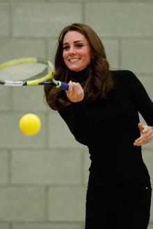 Herzogin Catherine beim Tennis