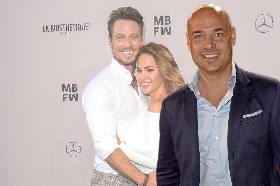 Christian Tews gratuliert Angelina Heger + Sebastian Pannek