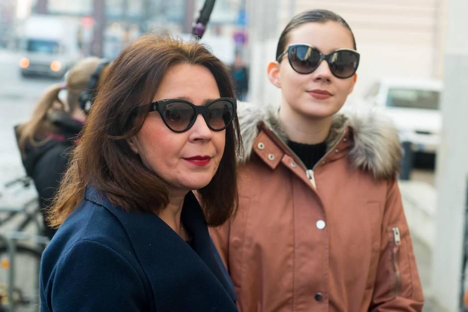 Nathalie Volk mit ihrer Mutter Viktoria Volk