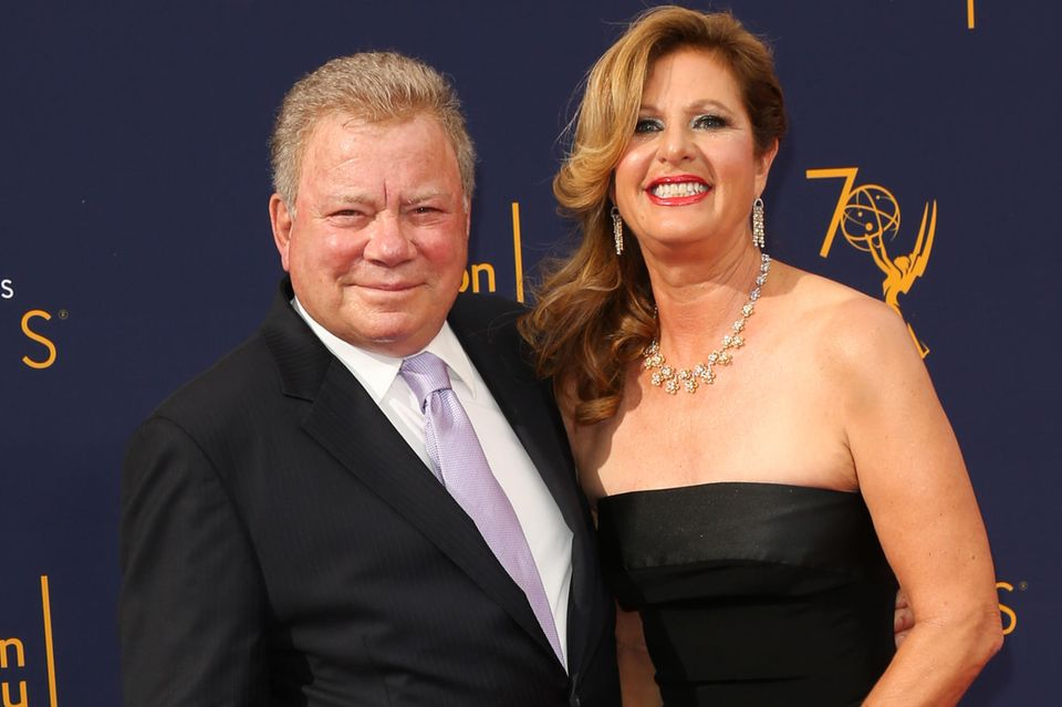 William + Elizabeth Shatner