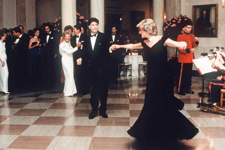 John Travolta, Prinzessin Diana