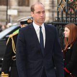 11. Dezember 2019  Mitglieder britischen Königsfamilie wie Prinz William sind in die Londoner Westminster Abbey gekommen, um an einer Gedenkfeier für ihren verstorbenen Freund Sir Donald Gosling teilzunehmen.