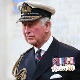 Prinz Charles ist sichtlich berührt. Sir Donald Gosling war Vizeadmiral der britischen Marine und ein guter Freund der Königsfamilie. Er verstarb bereits im September.