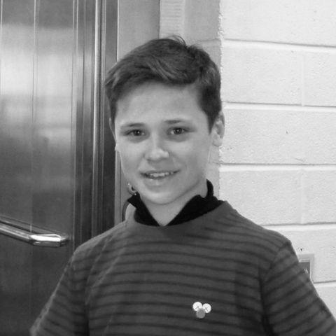 Jungschauspieler Jack Burns