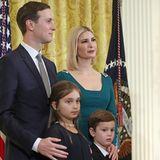 Ivanka Trump mit Kindern, Chanukka-Empfang im Weißen Haus