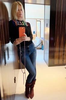Claudia Schiffer zeigt ihren Kleiderschrank