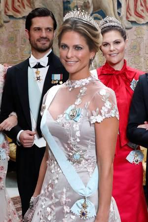 Prinzessin Sofia, Prinz Carl Philip, Prinzessin Madeleine, Kronprinzessin Victoria, Prinz Daniel