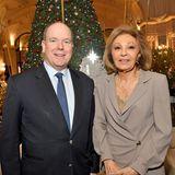 11. Dezember 2019  Fürst Albert und die frühere Kaiserin des Iran, Fatah Pahlavi, versteigern gemeinsam Weihnachtsbäume für einen guten Zweck. Sie unterstützen damit die Stiftung Action Innocence Monaco, die sich für Online-Sicherheit für Kinder starkmacht.