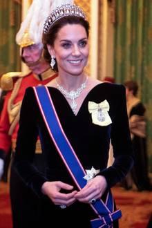 Herzogin Catherine mit Diadem