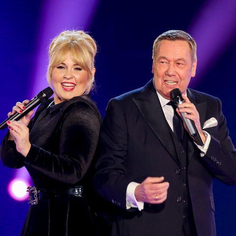 Maite Kelly und Roland Kaiser singen ein Duett