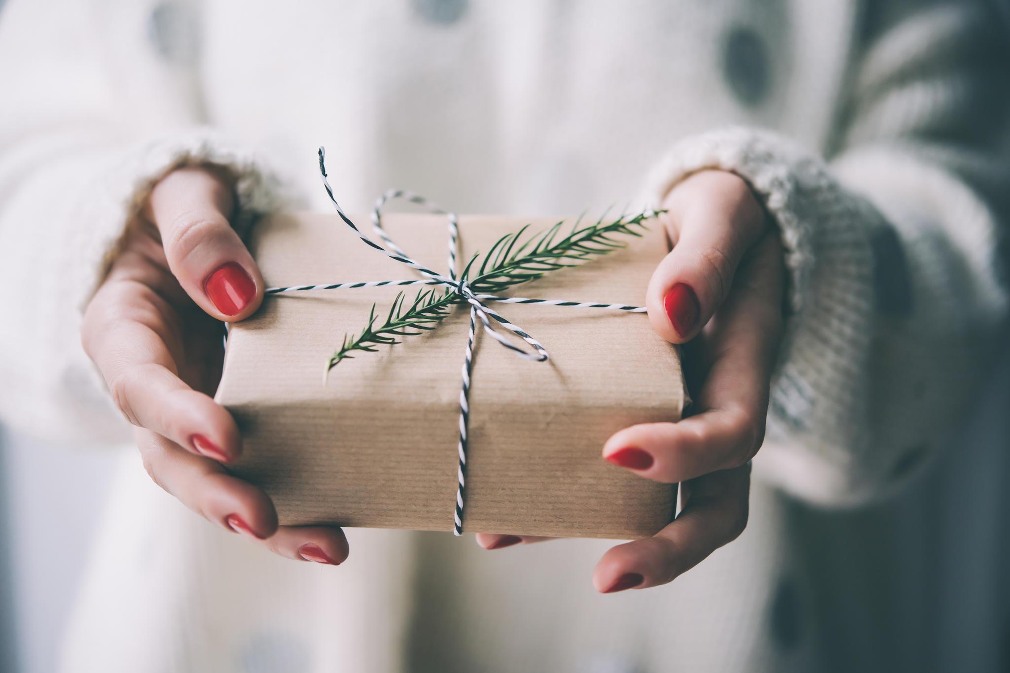 Nachhaltige Weihnachtsgeschenke