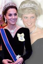 Herzogin Kate und Prinzessin Diana im Stylevergleich