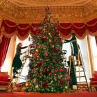 29. November 2019  Schloss Windsor wird für die kommenden Weihnachtstage festlich dekoriert.