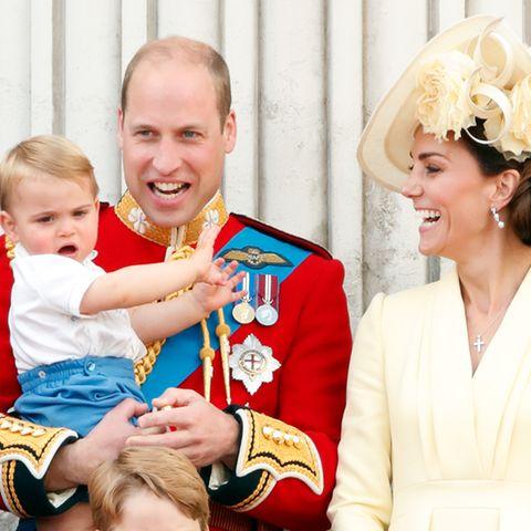 Prinz Louis, Prinz William, Herzogin Catherine