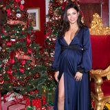 """Festlich wird es für die schwangere Jenna Dewan bei der """"Americana At Brand Annual Christmas Tree Lighting And Show"""" in Glendale."""