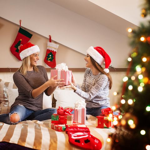 Geschenk beste Freundin, Weihnachtsgeschenk, Geschenkeaustausch zwischen Freundinnen, Weihnachten