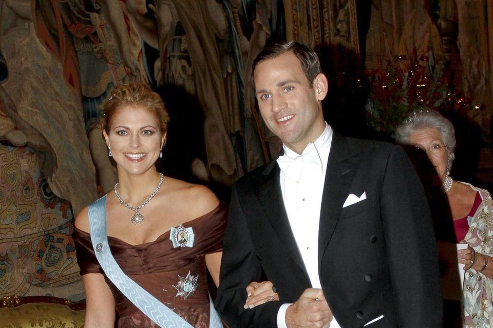 Letzter Auftritt als Paar: Prinzessin Madeleine und Jonas Bergström am 11. Dezember 2009.