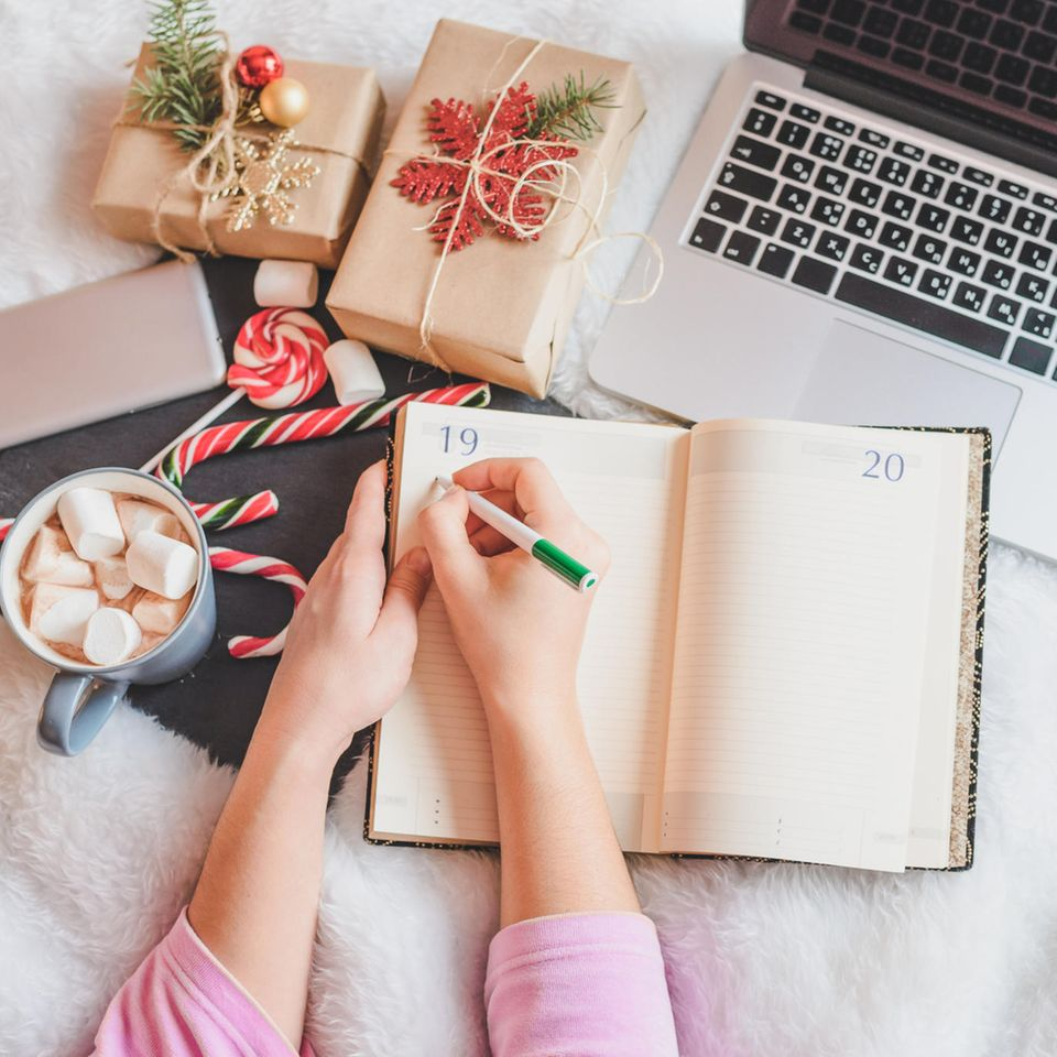 Online-Weihnachts-Shopping, Weihnachts-Shopping, Last-Minute-Geschenke, Weihnachtssüßigkeiten