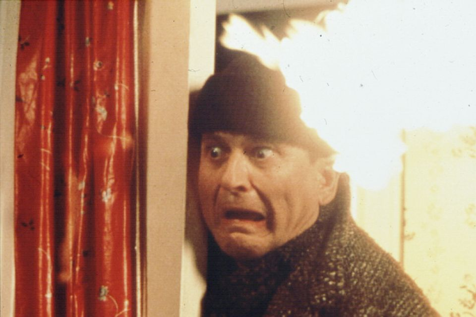 """Joe Pesci bei """"Kevin - Allein zu Haus"""""""