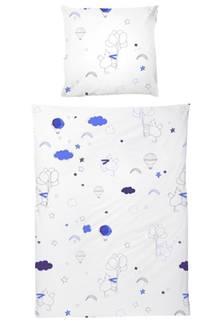 Wie man sich bettet, so schläft man. Das gilt auch schon für die Kleinsten, die mit dieser niedlichen Bettwäsche schlafen sollten wie ein Engel. Bettwäsche-Set von Katha Covers, ab ca. 49 Euro