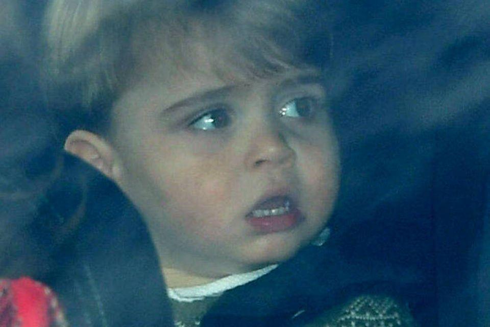 Mann, ist der groß geworden! Seit dem Sommer hat man Prinz Louis nicht mehr in der Öffentlichkeit gesehen.