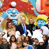 18. Dezember 2019  Auch in Monaco geht es zu Weihnachten bunt zu: Fürst Albert und Fürstin Charlène gebenfür die Kinder der Angestellten des Palastes in Monte-Carlo ein Fest.