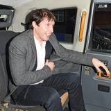 James Blunt im Taxi