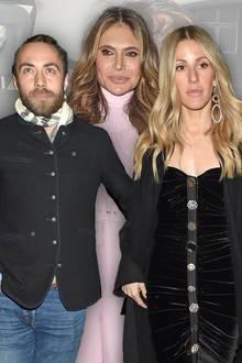 James Middleton, Ayda Field, Ellie Goulding