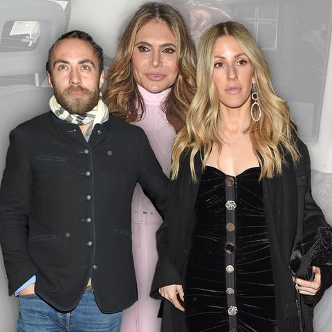 James Middleton, Ayda Field, Ellie Goulding