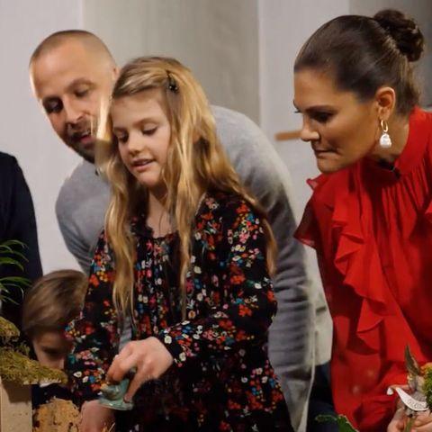 """Die schwedische Königsfamilie besuchte die """"Katarina""""-Kirche und Rev. Are Norrhava inSödermalm in Stockholm."""