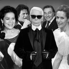 Hannelore Elsner, Costa Cordalis, Karl Lagerfeld, Karel Gott, Lisa Martinek