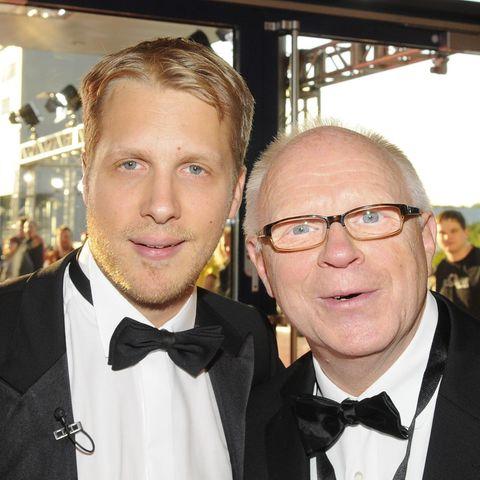 Oliver Pocher mit seinem Vater Gerhard Pocher