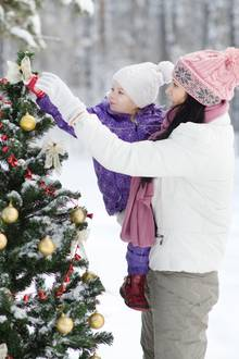 Wird es etwa doch weiße Weihnachten geben?