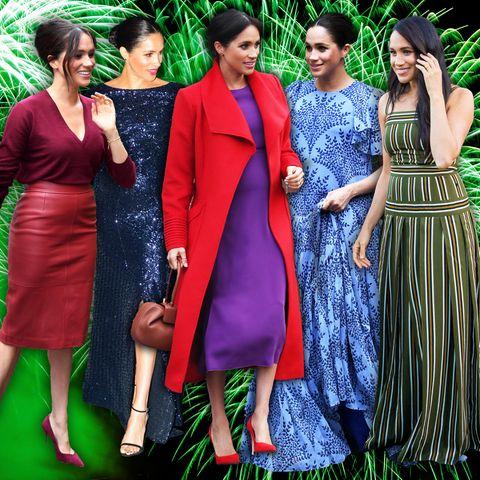 Jahresrückblick 2019: Die schönsten Looks von Herzogin Meghan