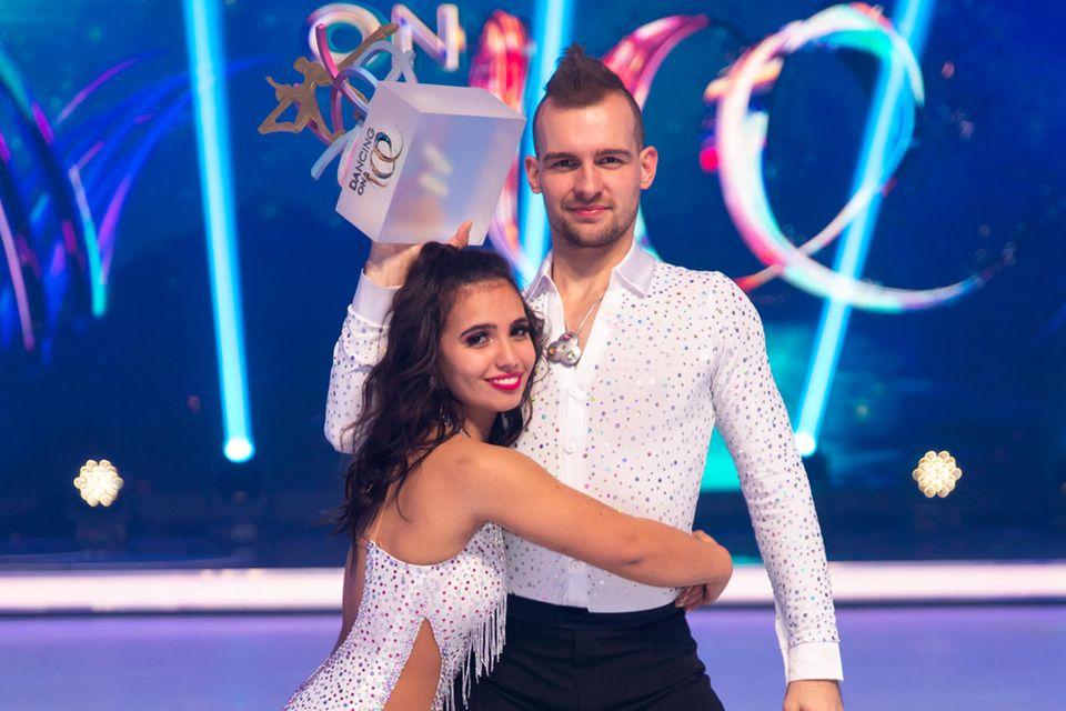 Amani Fancy und Eric Stehfest