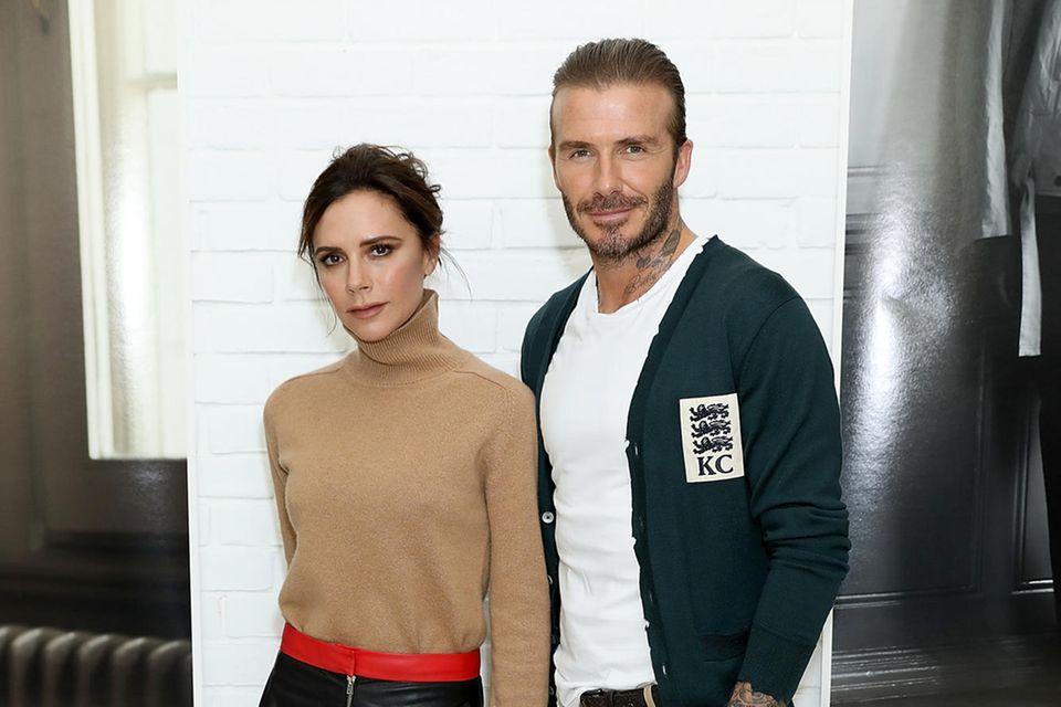 Victoria + David Beckham