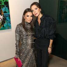 Eva Longoria + Victoria Beckham