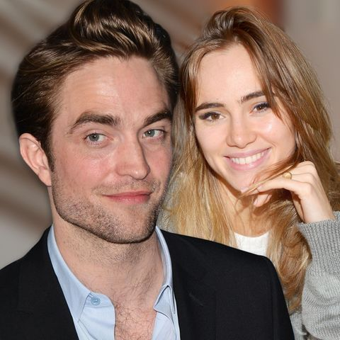 Robert Pattinson + Suki Waterhouse