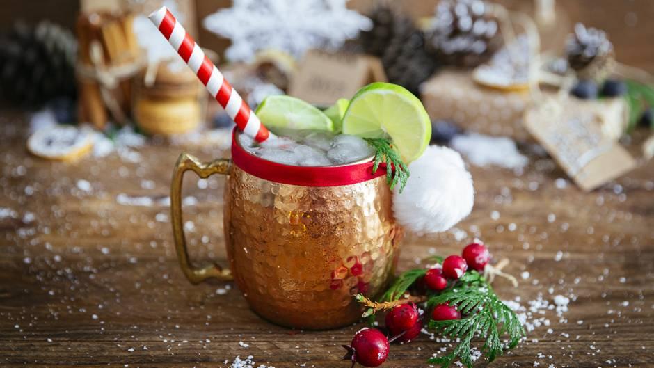 Weihnachtscocktail