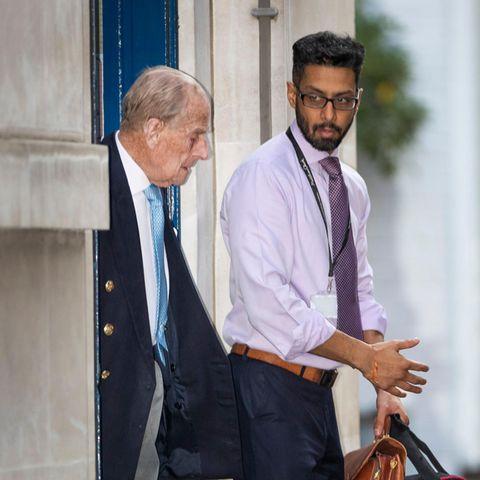 Prinz Philip verlässt am 24. Dezember 2019 dasKing Edward VII Hospital in London.