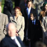 Strahlende Gesichter: PrinzEdward, Gräfin Sophieund ihre KinderJames, Viscount Severn undLady Louise Windsor sind ebenfalls mit dabei.