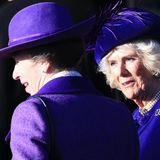Herzogin Camilla darf in Sandringham natürlich auch nicht fehlen.