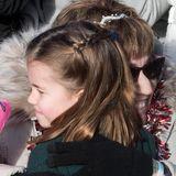 Die Umarmung der kleinen Prinzessin wird dieser Fander britischen Royals wohl nie vergessen.