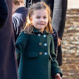 Prinzessin Charlotte in Sandringham